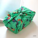 Green - Florence pattern cotton handkerchief