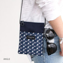 Angle - Comely pattern small crossbody bag