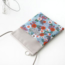 Blooming - Comely pattern small crossbody bag