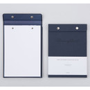 Navy - Simple and basic premium A5 drawing paper pad
