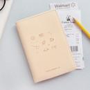 Ivory - Twinkle RFID blocking passport cover