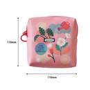Size of Du dum charming illustration zipper pouch
