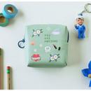 Awesome bird - Du dum charming illustration zipper pouch
