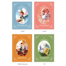 Option of Classic story small lined notebook