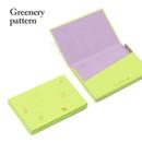 Greenery pattern - Lapis simple paper card case