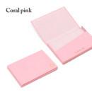 Coral pink - Lapis simple paper card case
