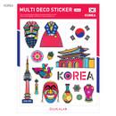 Korea - Travel multi deco paper sticker