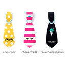 Everymonster Tie travel luggage name tag