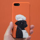 Pug pepper polycarbonate iPhone case