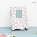 Petal - Pattern classic hardcover plain notebook