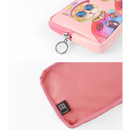 Detail of Fashionable animal square zipper pen case
