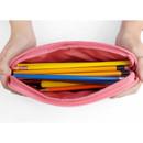Catvely - Fashionable animal square zipper pen case