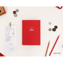 Deep red - My wise cash book planner