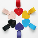 Aire delce heart luggage name tag