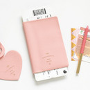 Indi pink - Aire delce RFID blocking passport cover