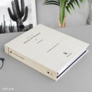 Light gray - Piece of moment memory 3 ring binder