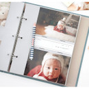 4 X 6 pocket - Piece of moment memory 3 ring binder