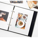 Sticky white - Piece of moment memory 3 ring binder
