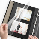 Sticky black - Piece of moment memory 3 ring binder