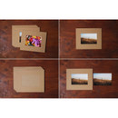 Detail of 4X6 Kraft paper photo frame set