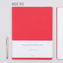 Red - Draw your sketch premium drawing notebook