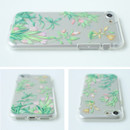 Detail of Flower pattern clear TPU iPhone 7 soft case