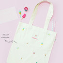 hello summer eco tote bag - 02