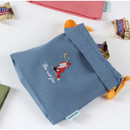 Fox - Tailorbird animal small drawstring pouch