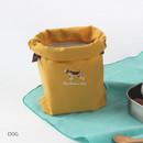 Dog - Tailorbird animal medium drawstring pouch