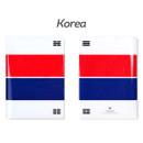 Korea - Flag RFID blocking passport case