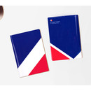 France - Flag RFID blocking passport case