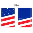 USA - Flag RFID blocking passport case