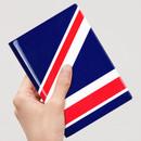 UK - Flag RFID blocking passport case