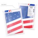 PVC pouch - Flag RFID blocking passport case