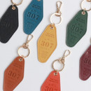 The Classic leather key ring