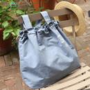 Blue - Tropical travel foldable island denim shoulder bag