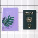 Garden RFID blocking passport case