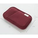 Size of Travel pocket zip around wallet