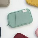 Travel pocket zip around wallet