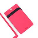 Pink - Premium business flat card holder case