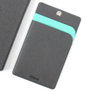 Gray - Premium business flat card holder case