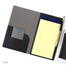 Black - Premium business notepad holder