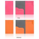 Pink, Orange - Premium business notepad holder