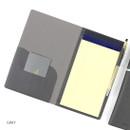Gray - Premium business notepad holder