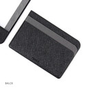 Black - Premium business basic pocket card case