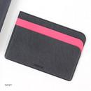 Navy - Premium business basic pocket card case