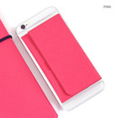 Pink - Premium business sticky pocket card case