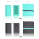 Mint, Gray - Premium business sticky pocket card case