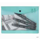 Mint - Premium business A5 clear file folder pouch
