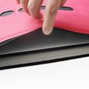 Premium business flat multi zipper pouch